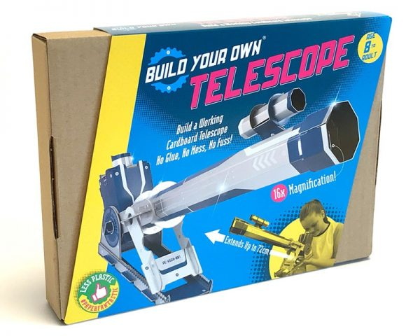 Build Your Own Telescope Boxed