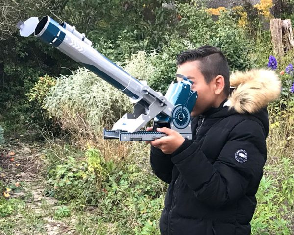 Build Your Own Telescope in use